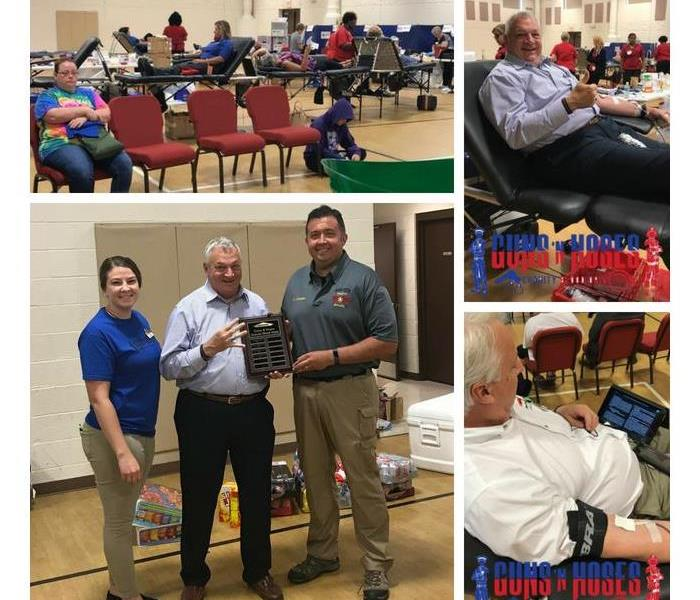 Water Damage Guns N' Hoses Blood Drive '18 Results